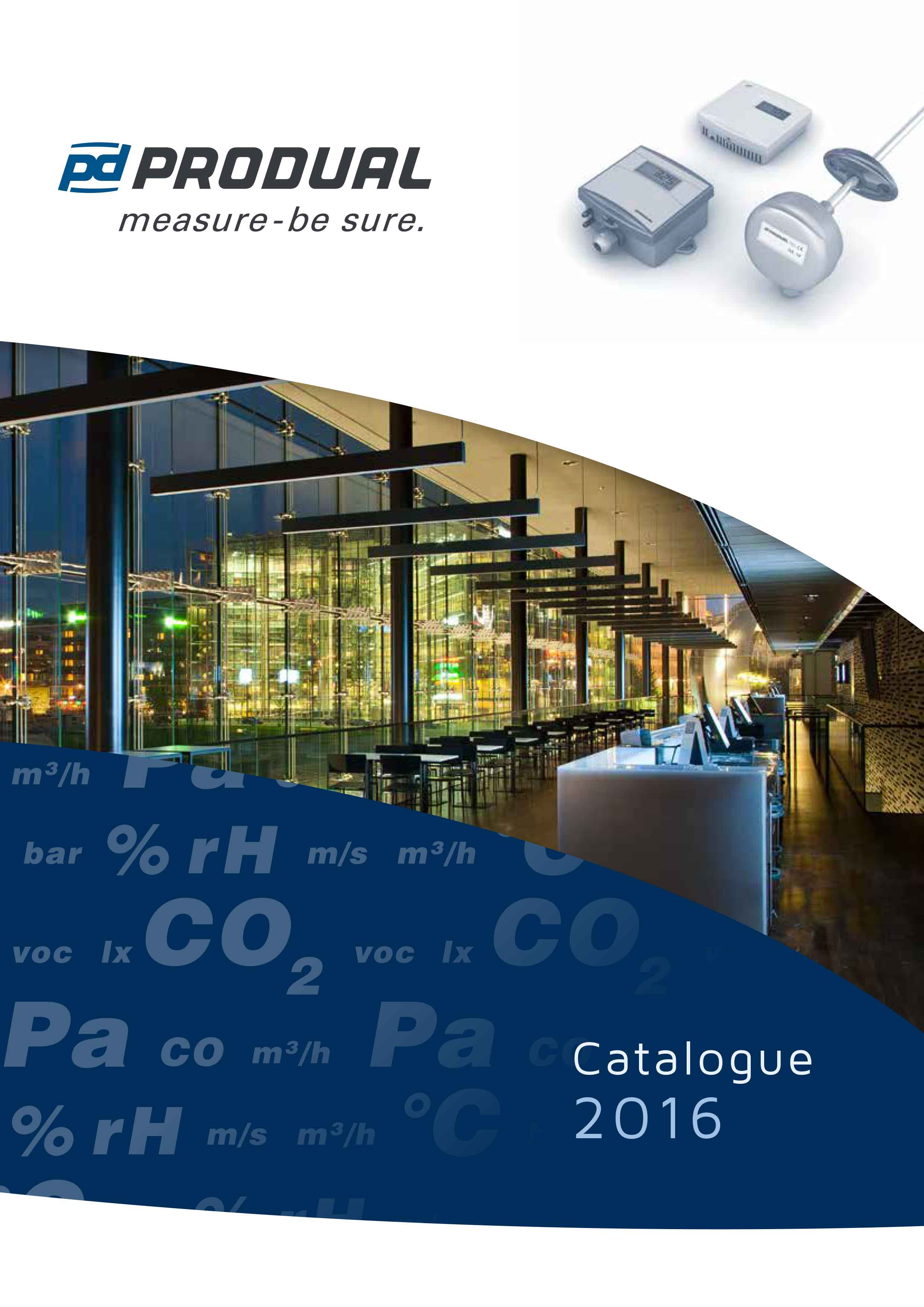 COVER2016 Produal product catalogue